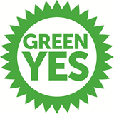 Green yes